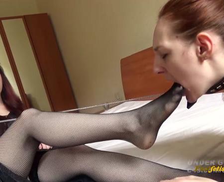 Alyson Foot Worship Lesbian