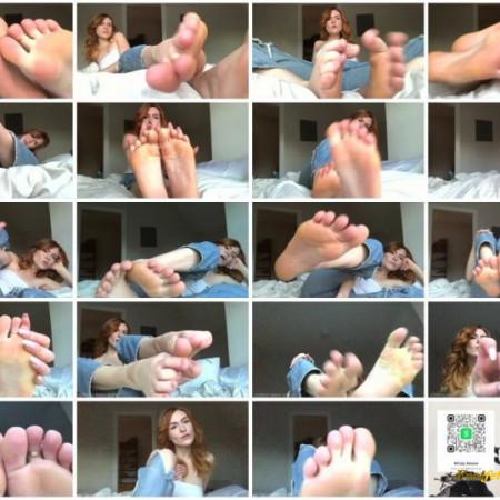 Goddess Mindy - Mindy's Foot Worship Fantasy