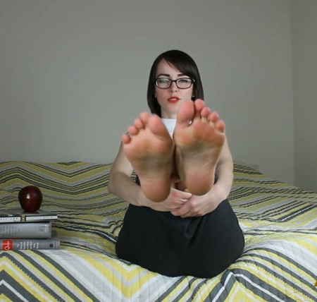 Teacher Roleplay Part 1 - High Heel Dangling and Instructions to Worship