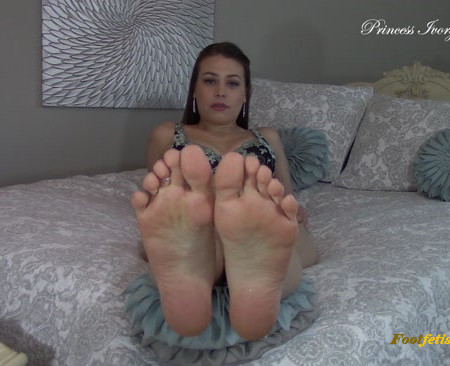 Princes Ivory - Weak For Soles Humiliation