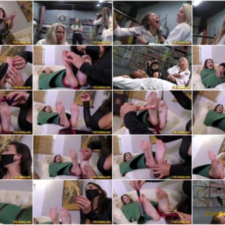 Courtney Cummings, Megan Jones - Tickle Wrestling Entertainment! Pt 28 Divide and Conquer!