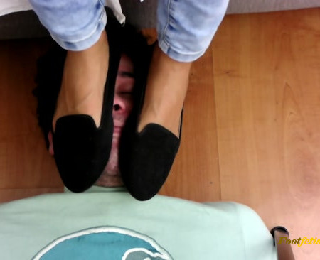 Goddess Enola Fischer - Face Trampling, Stomping And Slapping With Flats