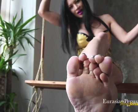 Miss Jasmine - It's time to play a game you want to be my footslave forever