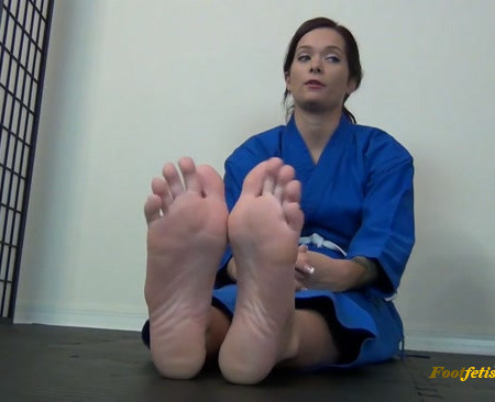 Karate Domination – Maria Marley Earns Her Yellow Belt