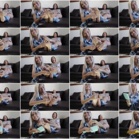 Global Tickling Studio – Neho Is Merciless With Faby's Ticklish Soles!