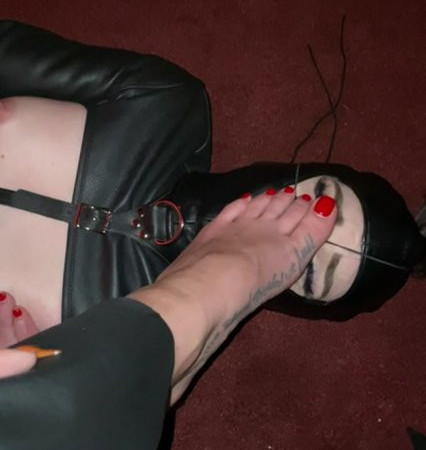 So Nice To Have A Pretty Little Foot Rest