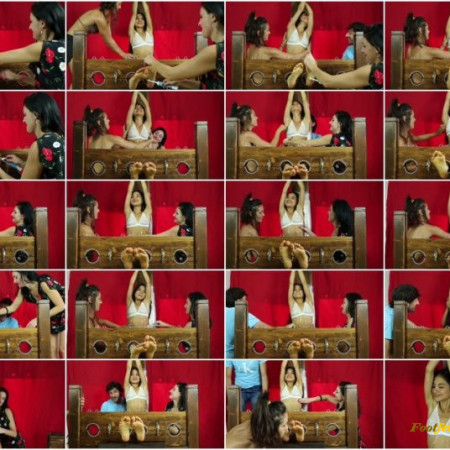 Italians Tickling – Sofia's first time