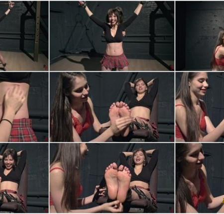 Russian Fetish – Elisara tickles her friend Guzel – Upper body and feet