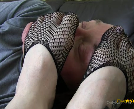 I Torment Monkeyboy With My Filthy Shoes Whilst He Is Bound