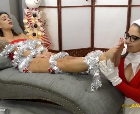Goddess Fina, Terra Mizu - Freaky foot holiday helper