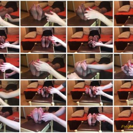 Doll House Studio – Jenny Foot Tickling In Fishnets