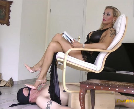 Lady Roksana - Mistress Human Floor - Boot Heel Worship Cbt Humiliation