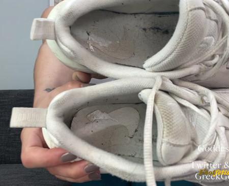 GreekGoddess195 - Beg for Goddess's Sweaty Sneaker Feet