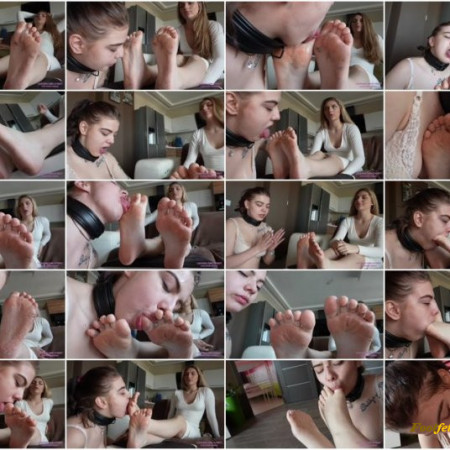 Licking Girls Feet – VALERIA – You couldn't handle my dirty boots, now what about my dirty feet