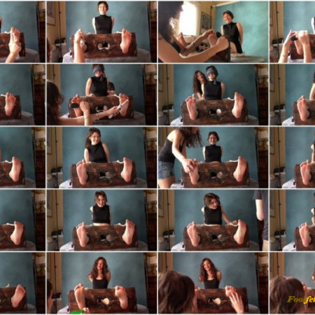 Lovely Laugh Tickling – Angela and Nolwenn's double Audition – One passed and one Failed