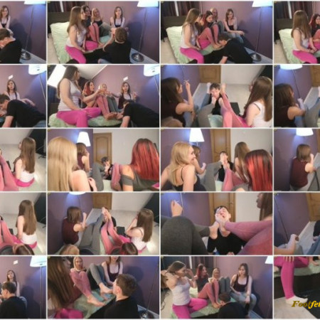Beautiful Girls – Wooow amazing!!! Girls humiliate, laugh, spit in the face and make you lick your feet
