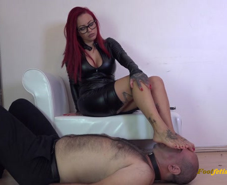 Lady Naomi - Show Me You Deserve Me - CRUEL Foot Worship And Domination