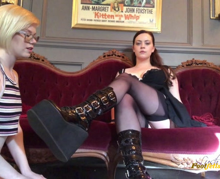 DemonGoddessJ – Pearl Spit Shines My Boots