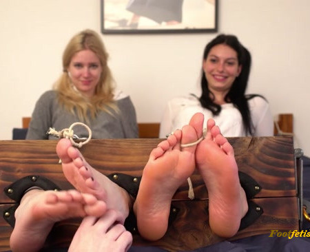Lovely Laugh Tickling – Schoolgirl Feud Double Punishment And A Treason !