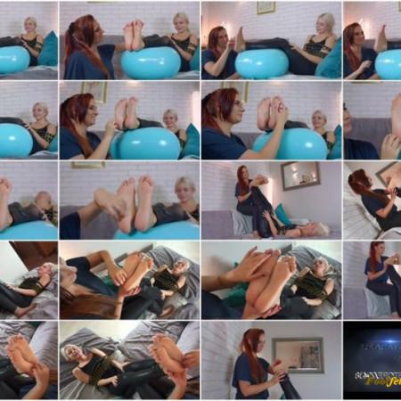 Polish Mistress – Weronika Tickle And Lick Feet Of Bondaged Khaleesi Daenerys – Full