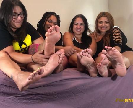 goddessmonica00w - Group foot tease for you