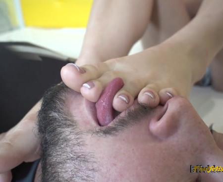 Bffvideos - Worship Rosa Melo Sweaty Feet Pt.2