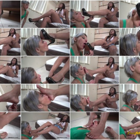 Bffvideos - Under Angela Stinky Soles Pt.1