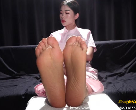Beautiful Girl Asia - Stinky foot and sock